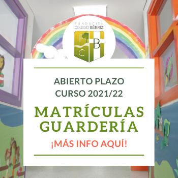 Matrículas Guardería Colegio Bérriz