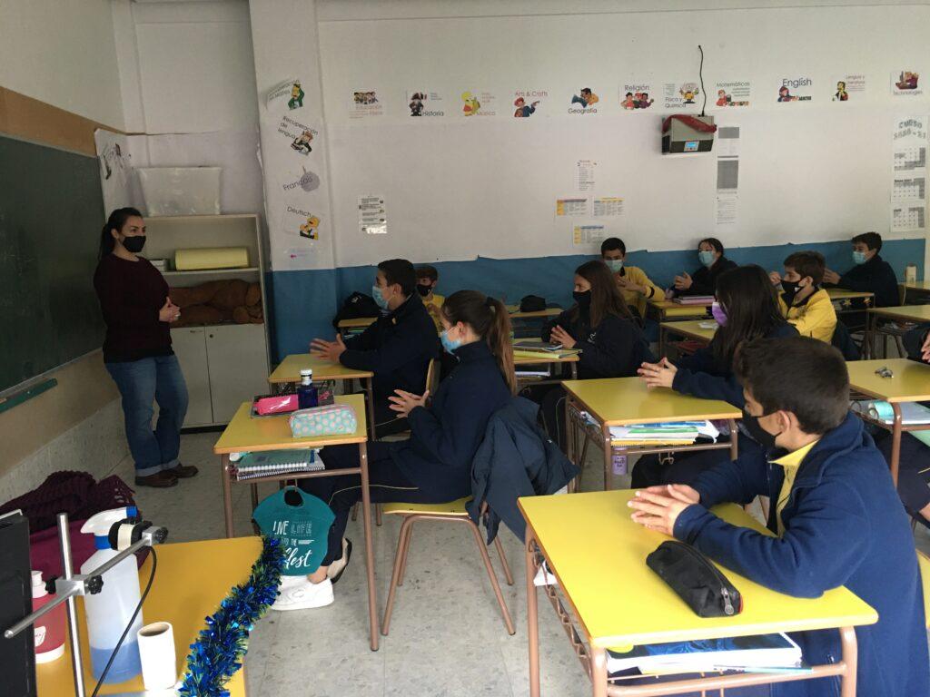 Sesión teórica Debate 2º ESO Fundación Colegio Bérriz