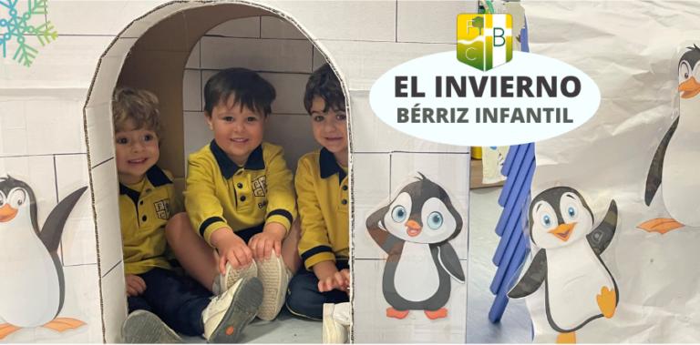 Instalación del Invierno en Infantil_Fundación Colegio Bérriz