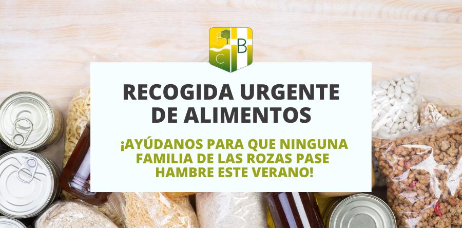 Campaña de recogida urgente de alimentos - Fundación Colegio Bérriz