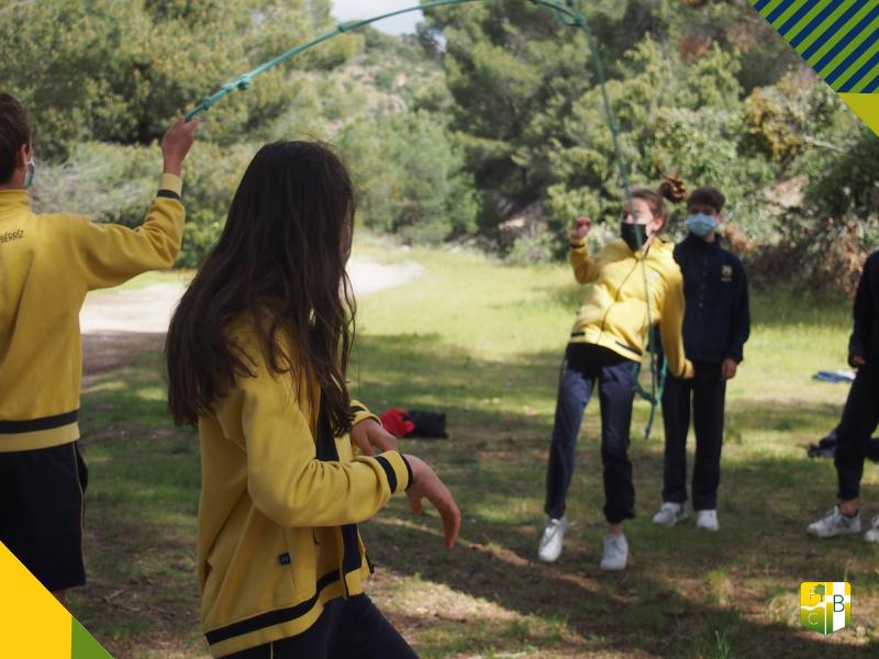 Acción Tutorial al Aire Libre 2º ESO - Fundación Colegio Bérriz 2