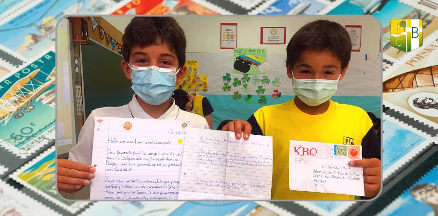 Cartas en inglés 4º Primaria - Fundación Colegio Bérriz