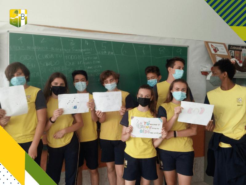 Concienciación sobre el ruido y la contaminación acústica votación de propuestas - Fundación Colegio Bérriz