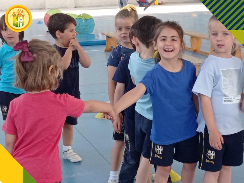 VII Mini Olimpiadas Educación Infantil Amistad y Deportividad - Fundación Colegio Bérriz