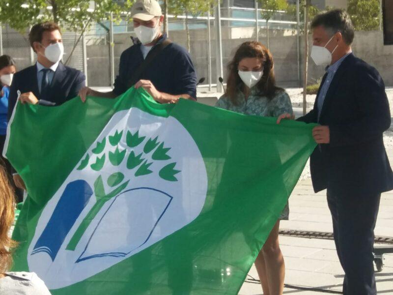 Renovación Bandera Verde Ecoescuela Bérriz Las Rozas
