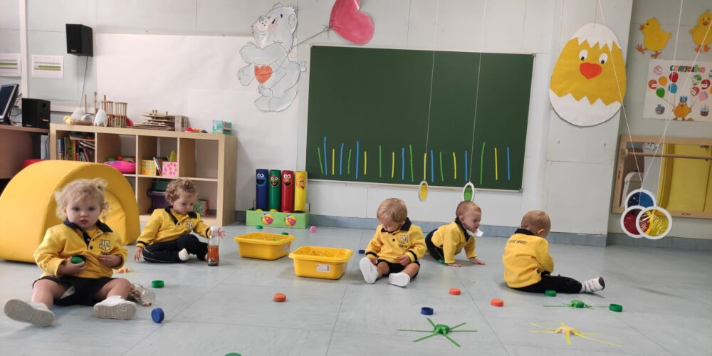 Nuestros alumnos de 1 año aprenden jugando - Colegio Bérriz