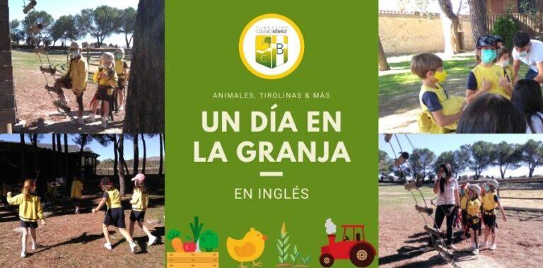 Un día en la granja y en inglés - Fundación Colegio Bérriz